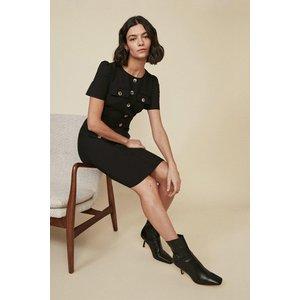 Oasis Womens Premium Utility Dress Black Aaa02883 105 16 5045672138496 Womens Dresses & Skirts, Black