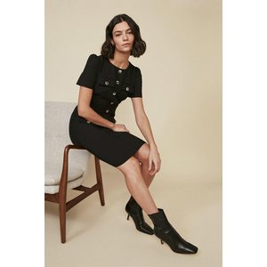 Oasis Womens Premium Utility Dress Black Aaa02883 105 24 5045672138533 Womens Dresses & Skirts, Black