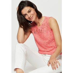 Dorothy Perkins Coral Lace Shell Clothing Accessories, coral