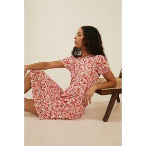 Oasis Ditsy Tiered Smock Dress Multi Womens Dresses & Skirts, multi