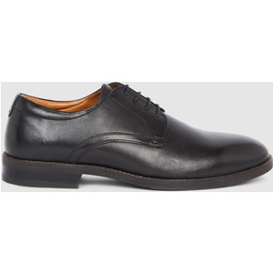 Debenhams Red Tape Bromly Leather Derby Black Shoes, black