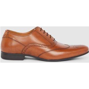 Debenhams Red Tape Portman Leather Brogue Tan Shoes, tan