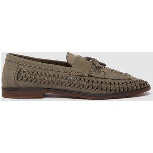 Debenhams Red Tape Weaver Suede Tassle Loafer Grey Shoes, grey