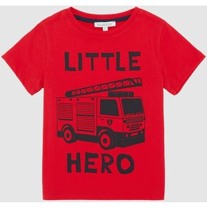 Blue Zoo Toddler Boys Little Hero Tee Red Clothing Accessories, red
