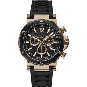 Gc Y53008g2mf Men's Spirit Chronograph Wristwatch Black Mens Watches, Black