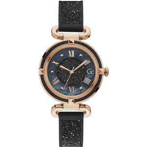 Gc Y58003l2mf Women's Cable Chic Wristwatch Black Womens Watches, Black