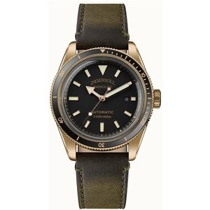 Ingersoll I05007 The Scovill Automatic Limited Edition Wristwatch Black Mens Watches, Black