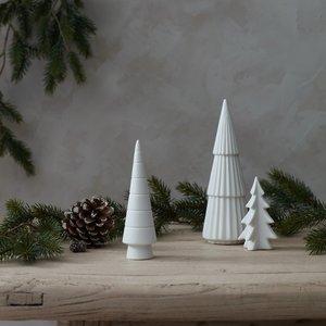 Layered Lounge White Ceramic Tree 41139680673945