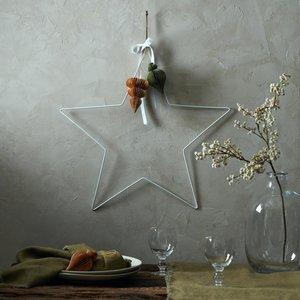 Layered Lounge White Metal Star 41293093863577