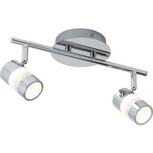Bubbles Bathroom 2-spot Bar Pc Pagazzi 4412cc Lighting