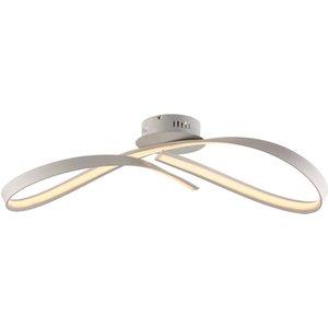 Gwyn 1-lt Led S/flush White Pagazzi Ple1938 Lighting