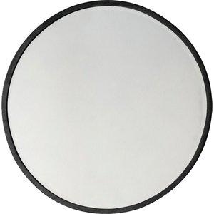 Higgins Round Mirror Bk 60x60 Pagazzi Higgrmirbk600 Home Accessories