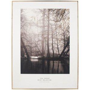 Mono Tree Print I Go/bk 60x80 Pagazzi 71 324 Home Accessories