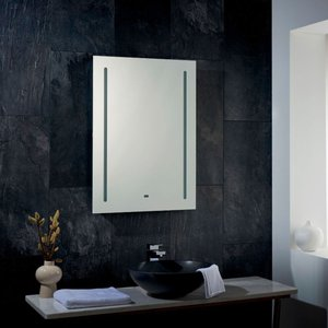 Nero Shaver Mirror Ip44 M/si Pagazzi 91833 Home Accessories