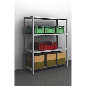 Eurokraftpro Bolt-together Shelf Unit, Light Duty, Zinc Plated M75527