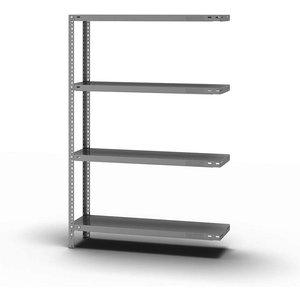 Eurokraftpro Bolt-together Shelf Unit, Light Duty, Zinc Plated M568