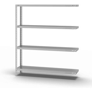 Eurokraftpro Bolt-together Storage Shelving, Ral 7035, Medium Duty M75557