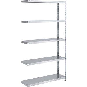Eurokraftpro Bolt-together Storage Shelving, Zinc Plated, Medium Duty M1287