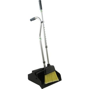 Unger Dustpan With Broom, Telescopic Handle M6945090