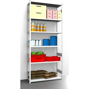 Eurokraftpro Hygienic Boltless Shelving Unit M1024599