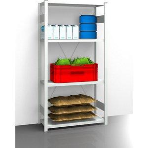 Eurokraftpro Hygienic Boltless Shelving Unit M1024593