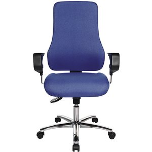 Topstar Operator Swivel Chair, With Arm Rests M1080196