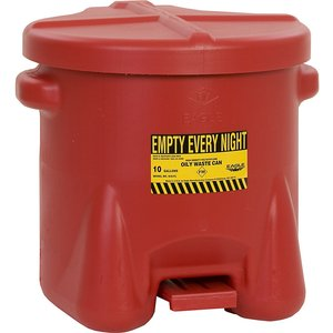 Justrite Pe Safety Disposal Can For Aggressive Media M7529163