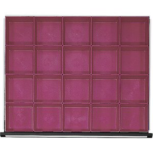 Anke Plastic Small Parts Tray With 20 Compartments M1290215