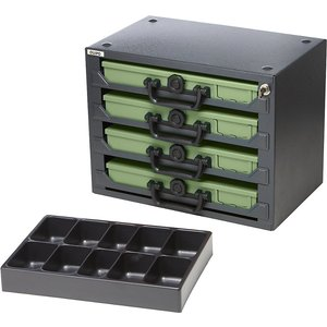 Quipo Stacking Tower With 4 Small Parts Cases M1015290