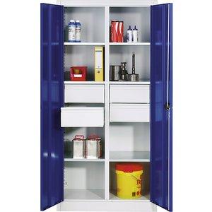 Cp Storage Cupboard Made Of Sheet Steel M75873