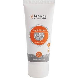 Benecos Natural Hand Cream For Sensitive Hands Benecarehacrsens 91907 Skincare
