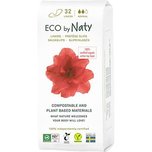 Eco By Naty Panty Liners - Normal Natylinnorm 1 9244701 Medical