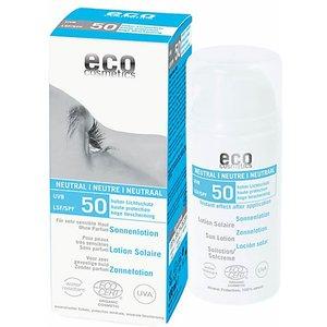 Eco Cosmetics Sun Lotion Spf50 - Fragrance Free Ecocossunspf50neutral 102/074253 Skincare
