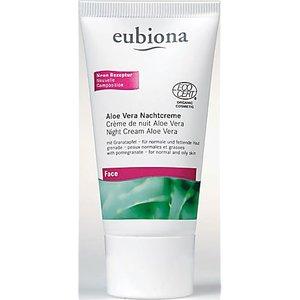 Eubiona Night Cream With Aloe Vera Eubiavnacht 101 5113 Skincare