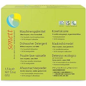 Sonett Dishwasher Powder - 1.5kg Sonedishpowd1kgde De4023 Cleaning
