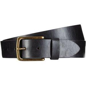 Burton Mens Big & Tall Black Jeans Belt, Black BR44B05LBLK XXXL, Black