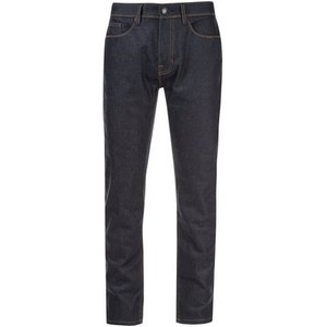 Burton Mens Big & Tall Indigo Wash Blake Raw Denim Slim Fit Jeans, Navy Br12l51lblu 32xl, NAVY