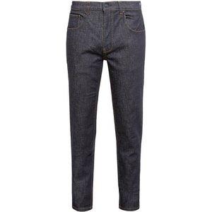 Burton Mens Black Carter Slim Coated Raw Denim Tapered Leg Jeans, Blue Br12l09pblu 42s, blue