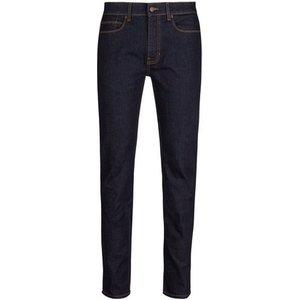 Burton Mens Blue Blake Slim Fit Raw Denim Jeans, Blue Br12l09mblu 46r, Blue