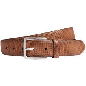 Burton Mens Brown Perforated Jeans Belt, Brown BR05B10OBRN, brown