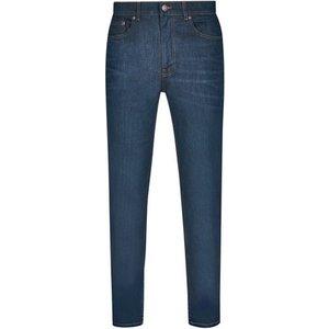 Burton Mens Coated Green Raw Denim Carter Tapered Fit Jeans, Blue/green Br12a03pblu 46r, BLUE/GREEN