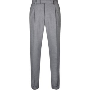 Burton Mens Grey Tapered Fit Soft Touch Trousers, Grey Br23s23ngry 32s, Grey