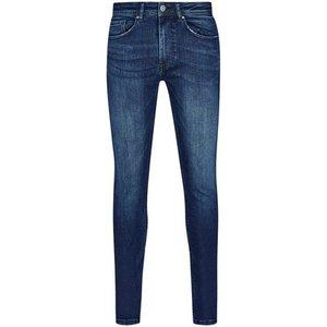 Burton Mens Indigo Ethan Super Skinny Jeans, Indigo Br12s02pblu 44r, INDIGO