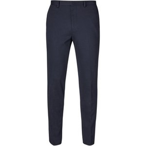 Burton Mens Navy Essential Tapered Fit Jersey Trousers, Blue Br23s02mnvy 44r, Blue
