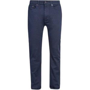 Burton Mens Navy Twill 5 Pocket Blake Slim Fit Jeans, Blue Br12l01pnvy 30l, Blue
