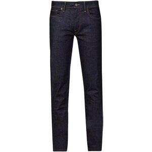 Burton Mens Tall Indigo Tyler Stretch Skinny Fit Rinse Denim Jeans, Blue Br12k52lblu 40r, Blue