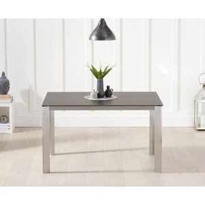 Great Furniture Trading Company Antonia 130cm Mink/brown Spanish Ceramic Dining Table