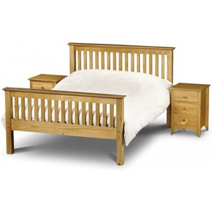 Great Furniture Trading Company Basel High Foot End Solid Pine Single Bed