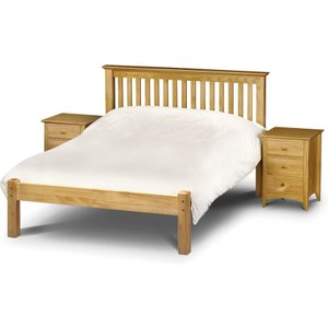 Great Furniture Trading Company Basel Low Foot End Solid Pine Double Bed
