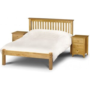 Great Furniture Trading Company Basel Low Foot End Solid Pine King Size Bed